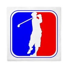 Golf League Logo Queen Duvet