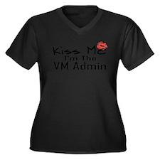 10x10_kissme_vmadmin_white Plus Size T-Shirt