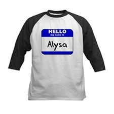 hello my name is alysa Tee