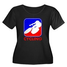 Cycling League Logo Plus Size T-Shirt