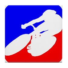 Cycling League Logo Tile Coaster