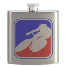 Cycling League Logo Flask