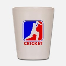 Cricket League Logo Shot Glass