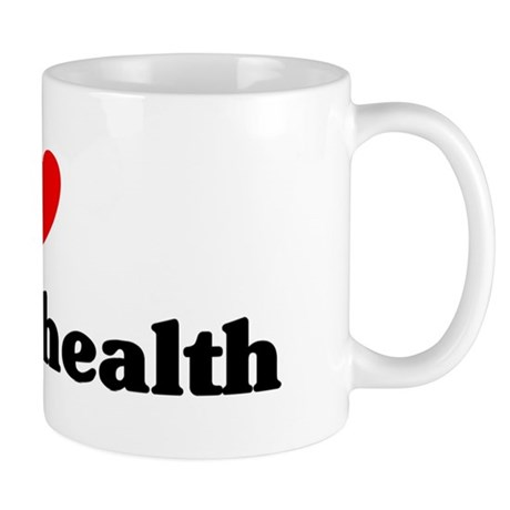 I Love mental health Mug