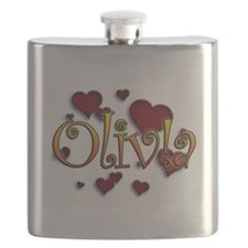 first name Olivia ! for i graffiti style Flask