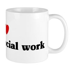 I Love medical social work Mug