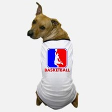 Basketball League Logo Dog T-Shirt