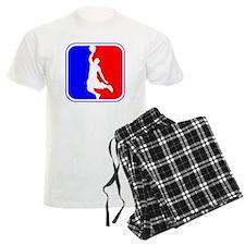 Basketball League Logo pajamas