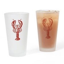 Red Lobster Drinking Glass