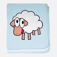 Cartoon Sheep baby blanket