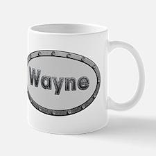 Wayne Metal Oval Mugs