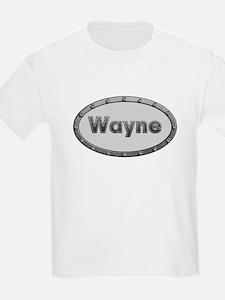 Wayne Metal Oval T-Shirt