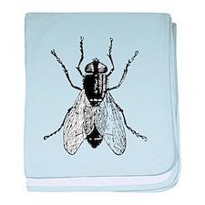 Housefly baby blanket