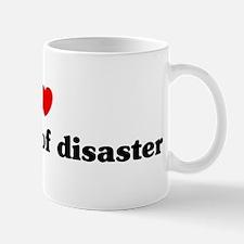 I Love sociology of disaster Mug