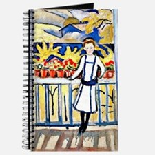 Franz Marc - Girl on a Balcony Journal