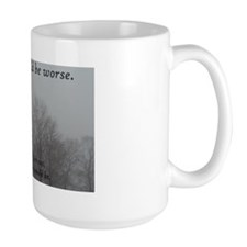 Things Could Be Worse Trees Mug