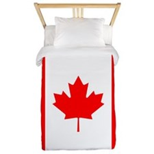 Canadian Flag Twin Duvet