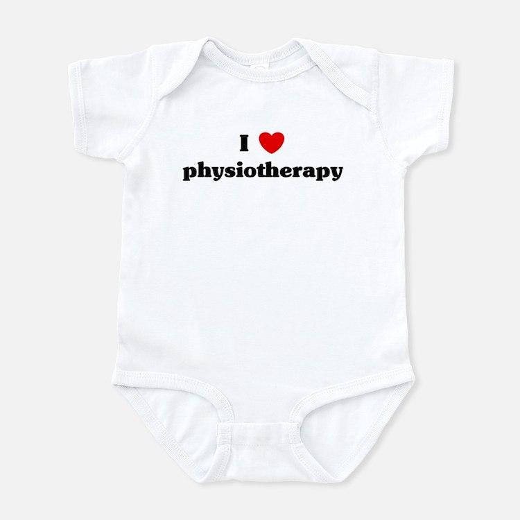 I Love physiotherapy Infant Bodysuit