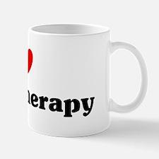 I Love physiotherapy Mug