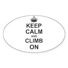 Keep Calm and Climb on Decal