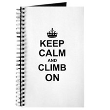Keep Calm and Climb on Journal