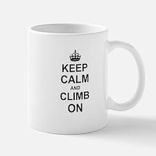 Keep Calm and Climb on Mugs