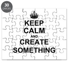 Keep Calm and Create Something Puzzle