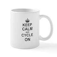 Keep Calm and Cycle on Mugs