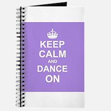 Keep Calm and Dance on Journal