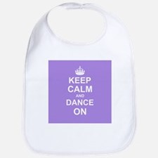 Keep Calm and Dance on Bib