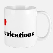 I Love mass communications Mug