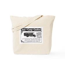 1920's CAMPER Tote Bag