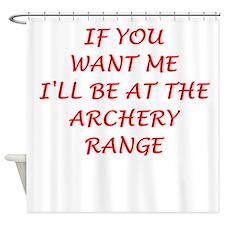 archery Shower Curtain