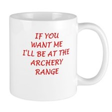 archery Mugs
