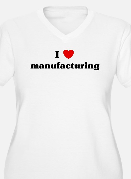 I Love manufacturing T-Shirt