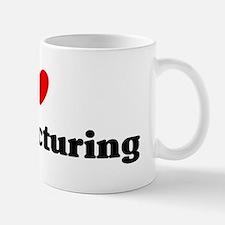 I Love manufacturing Mug