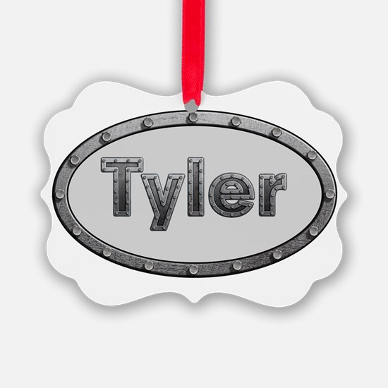Tyler Metal Oval Ornament