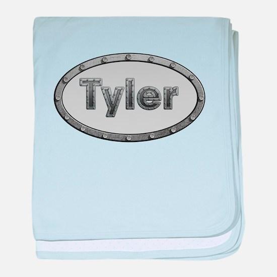 Tyler Metal Oval baby blanket