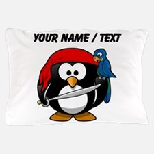 Custom Pirate Penguin Pillow Case