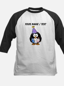 Custom Party Penguin Baseball Jersey