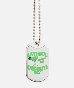 margarita day.png Dog Tags