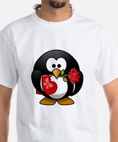 Valentines Day Penguin T-Shirt