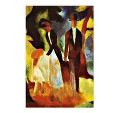 Franz Marc - People by th Postcards (Package of 8)