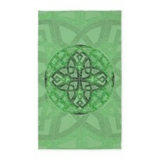 Celtic Clover Mandala 3'x5' Area Rug