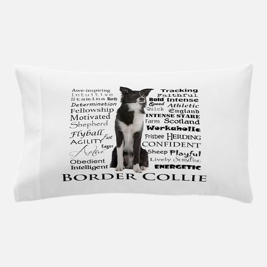 Border Collie Traits Pillow Case