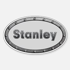 Stanley Metal Oval Decal