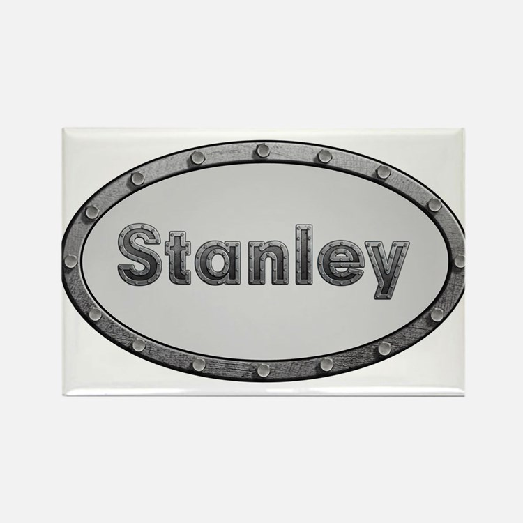 Stanley Metal Oval Magnets