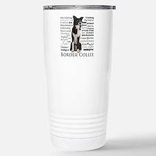 Border Collie Traits Travel Mug