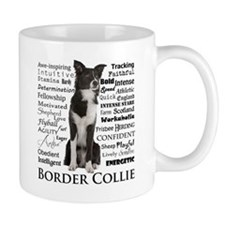 Border Collie Traits Mugs