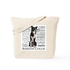 Border Collie Traits Tote Bag